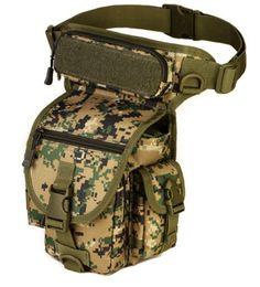 bcc61283640 Multi-purpose Military Tactical Drop Leg Bag