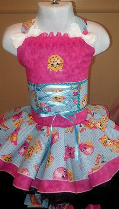 National Pageant Casual Wear OOC Boutique Shopkins 18mos 3T | eBay