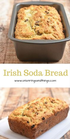 With a crackly crust yet fluffy and moist on the inside, this Irish soda bread generously studded with plump raisins is without question the best quick bread loaf you'll ever have
