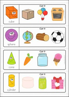 Kindergarten Math Centers - SPRING. 137 pages in total. A page from the unit: clip the matching objects