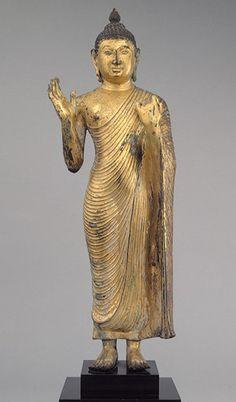 Polonnaruva period (1070–1200), Gilt Bronze.  In the met museum in USA.