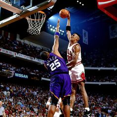 """""""Suns won the battle in 3OT NBA Finals game 20 years ago today. But we won the war.""""  -Scottie Pippen"""