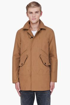 Mens Vintage Checked Mac Coat 42