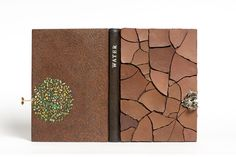Designer Bookbinder   Credit: /Bodleian Library  The inspiration for George Kirkpatrick's book was the idea of a drop of water landing on the dried mud and soakin...