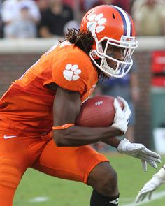 Clemson Tigers wide receiver DeAndre Hopkins (6) - Florida State at Clemson by joshuak8, via Flickr