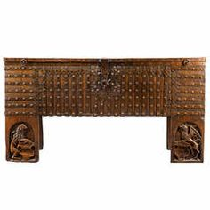 Important 15th c. German Gothic Chest