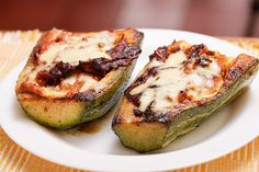 ... Ways to Make Stuffed Zucchini Cups With Meat, Tomatoes and Mozzarella