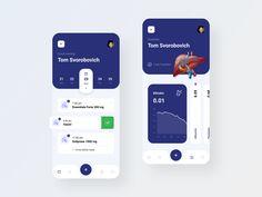 Healthcare App by Alexey Savitskiy for NORT on Dribbble Ui Design Mobile, Design Ios, Mobile Ui, Graphic Design, Application Design, Mobile Application, Ui Web, User Interface Design, Health Care