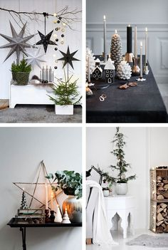 Scandinavian Christmas inspiration for getting the perfect Nordic look - Innena. Scandinavian Christmas inspiration for. Scandi Christmas, Christmas Interiors, Christmas Trends, Noel Christmas, Modern Christmas, Christmas Inspiration, Christmas 2019, All Things Christmas, Christmas Tree Decorations