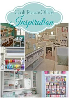 Craft Room/ Office Inspiration from Pinterest!