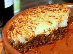 No Fuss Vegetarian Shepherd's Pie Recipe - A vegetarian shepherd's pie has way more flavor than the traditional meat variety, and is a lot ch...