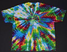 Vibration Tie Dye Hippie Burning Man Shirt  by Wildflowerdyes, $30.00