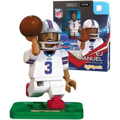 EJ Manuel Buffalo Bills OYO Sports Player Minifigure - $10.39