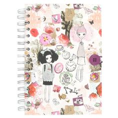 Think I might be needing this Paperchase Wonderland notebook come September. :)