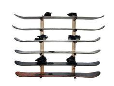 Snowboard Storage 6 Space Level, 2015 Amazon Top Rated Ski Storage Racks #HomeImprovement