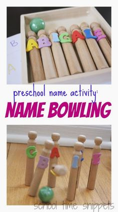 School Time Snippets: Preschool Name Recognition Activity. Pinned by SOS Inc. Resources. Follow all our boards at pinterest.com/sostherapy/ for therapy resources.