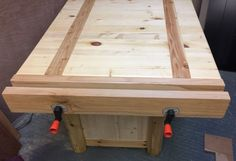 Woodwork Bench Vise From Scrap: 6 Steps (with Pictures) #woodworkingbench
