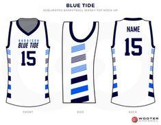 a96b7281867b BLUE TIDE White Blue and Sky Basketball Uniforms
