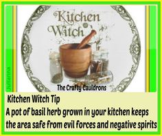 Kitchen witch - Pinned by The Mystic's Emporium on Etsy