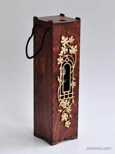 Vine box of plywood