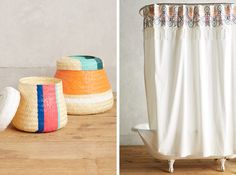 NYT T Magazine: Joanna Williams has created a collection of baskets, bedsheets, towels and more for Anthropologie that draw from her family's hometown.