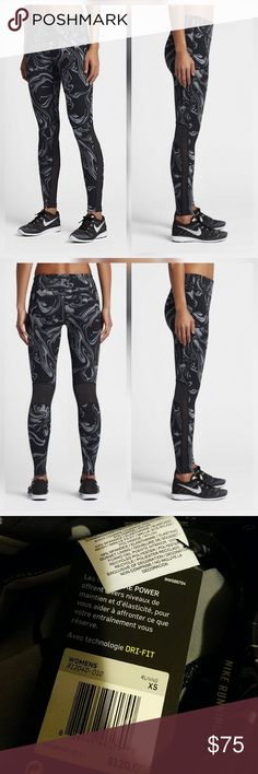 Nike Power Epic Lux Tights Pants Legging Printed New with tags. perfect condition. No trades Nike Pants