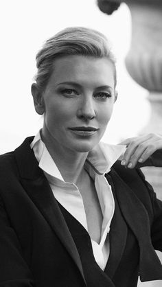 Cate. Love this look.