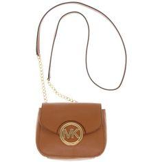MICHAEL Michael Kors Handbag, Fulton Crossbody - Handbags &... ($128) via Polyvore