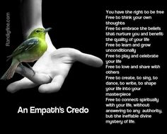 Empaths     Excerpted from the March 26, 2014 show on A Fine Time For Healing,  What Is An Empath and Are You One  Ha...