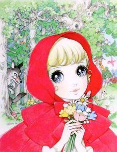 Little Red  Makoto Takahashi - vintage manga