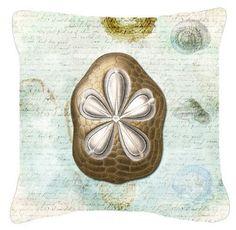 Sand Dollar Indoor/Outdoor Throw Pillow