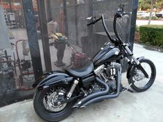 Harley Davidson Dyna Ape Hanger... I'd need to know if this was safe to ride to work before I got something like this.