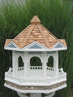 Bandstand Gazebo Bird Feeder. This is what a $360.00 Bird Feeder looks like.