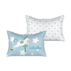 cojin-caballo-1 Textiles, Bed Pillows, Pillow Cases, Cushion Covers, Filing Cabinets, Pillows, Cloths, Fabrics