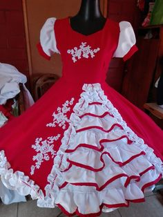 Hermoso como comprar Dresses Kids Girl, Dance Outfits, Kids Girls, Blouse, Womens Fashion, Shirts, Clothes, Briefs, Folklore