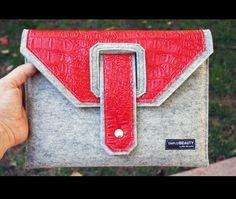 Ipad Case 100 Merino Wool Felt 3mm thick So by AlexMLynch on Etsy