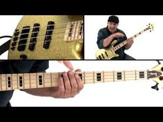 Bass Guitar Lesson - The Funky Boogaloo - Andy Irvine - YouTube