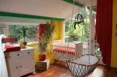 Babyroom caribbean style.