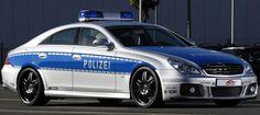 Mercedes cop policia