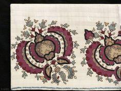 Ottoman textile, 18th century, 1.20 X 0.30 m. http://gallery-arabesque.com/item/400015618