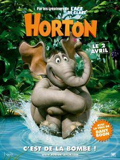 AFFICHE 1 CINEMA du film HORTON