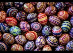 Some lovely Sorbian eggs