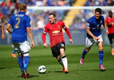 Leicester 5 United 3. Despite being 3-1 up on 62 mins, the Reds fall to defeat against the Foxes. #MUFC