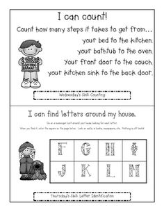 Preschool Pack - A Kindergarten Readiness Calendar