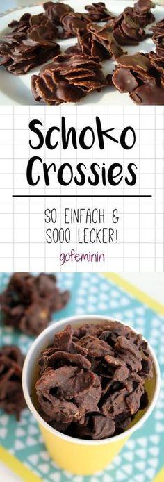 Schoko Crossies selber machen: DIESES Rezept ist sooo einfach! #schokolade #rezepte #pralinen
