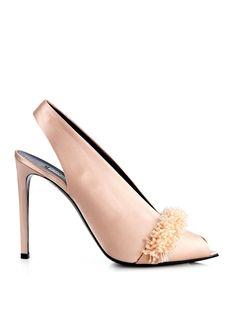 Balenciaga All Time satin sandals