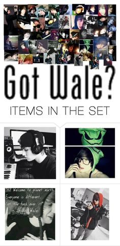 """Jeydon Wale"" by michael-cliffords-girl-0302 ❤ liked on Polyvore featuring art"