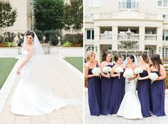 Jon & Emily // Westin Annapolis Wedding // #DonnaMorgan #bridesmaid #dresses in #amethyst // Kirsten Marie Photography