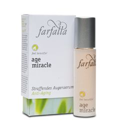 Farfalla Age Miracle lifting eye serum #organic #vegan natrue certified natural cosmetics