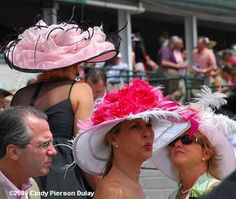 Kentucky Derby hats - © Cindy Pierson Dulay